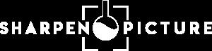 Logo blanc de Sharpen Picture